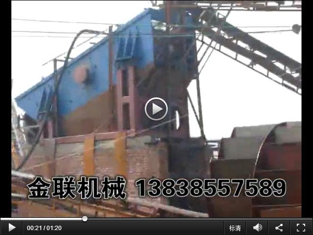 河南制砂生产线现场视频_破碎,筛分,洗沙生产线视频