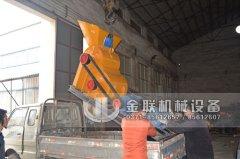 小型双级粉碎机发货图片_发往山西忻州_破碎煤和煤泥