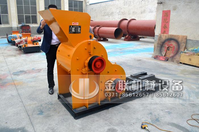 SCF600×600小型煤矸石粉碎机,生产能力20-25t/h