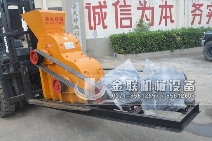 SCF600×400小型煤矸石粉碎机,生产能力10-15t/h