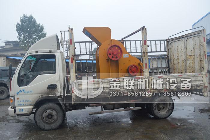 SCF800X600双级粉碎机发货图片_发往山东济南_破碎煤矸石6